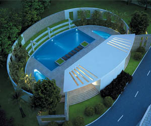 Swimming Pool- Metro Green Woods Housing Project